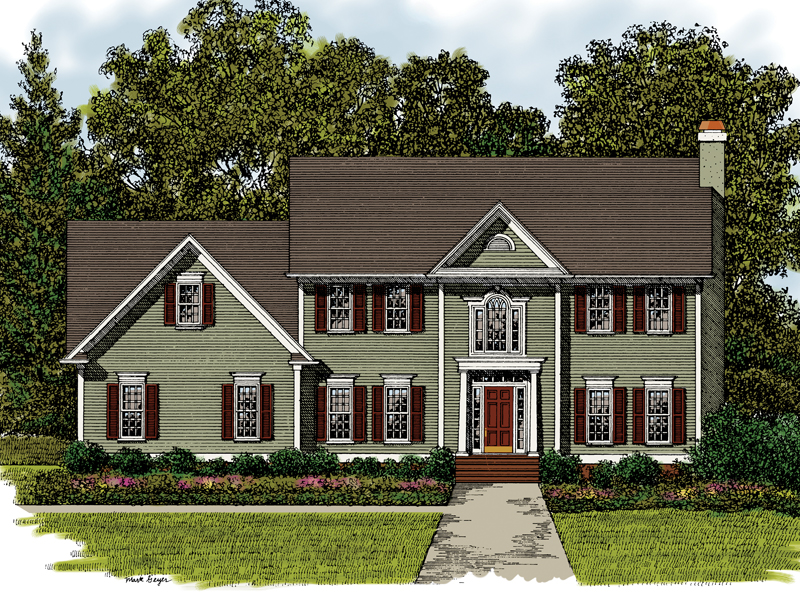Two story house plans for Two story home